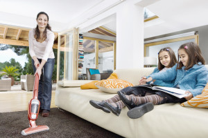 How to Keep the House Clean with Little Ones Around