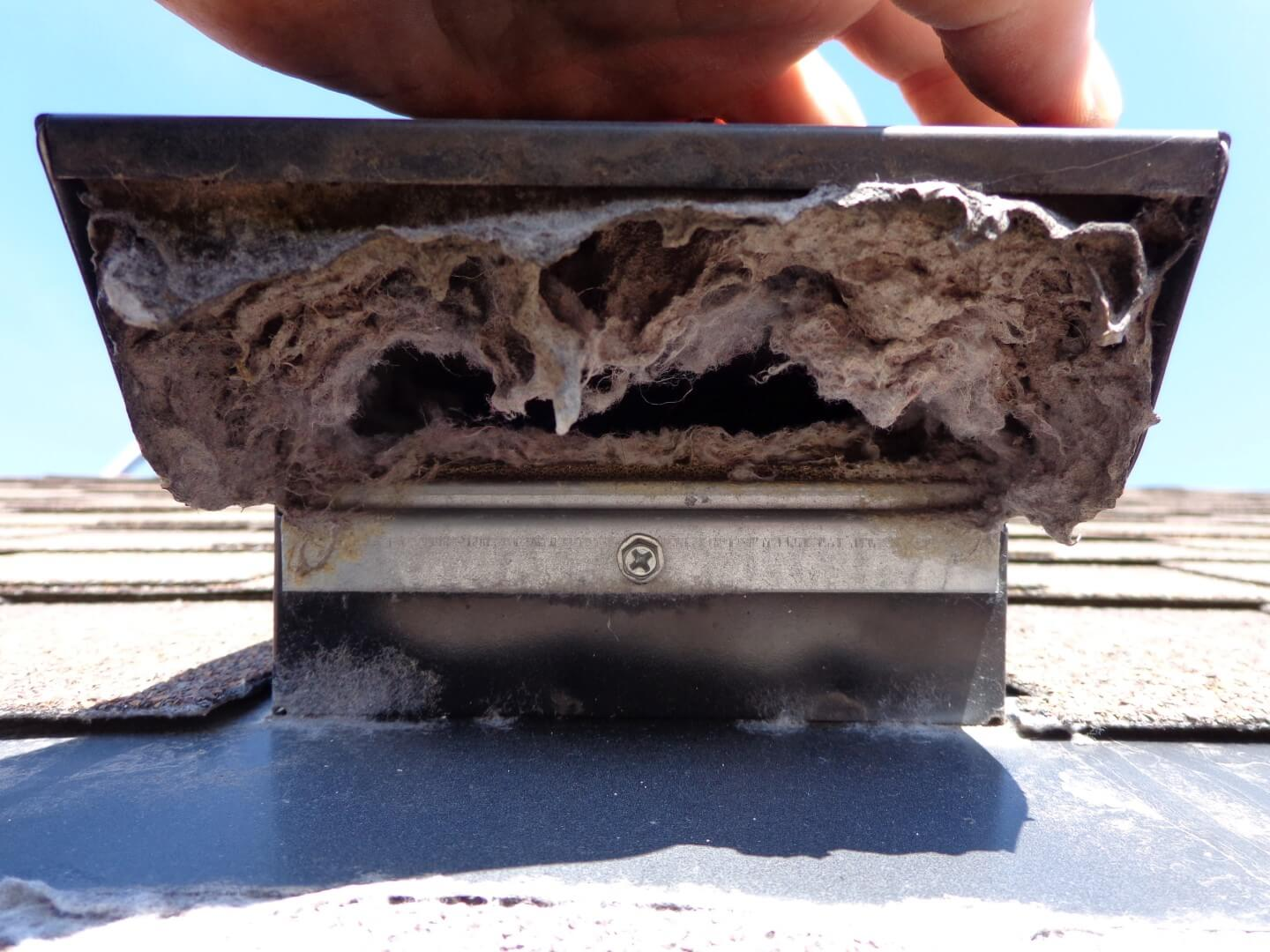 Clogged Dryer Vent Roof A 1 Cleaning Service Llc