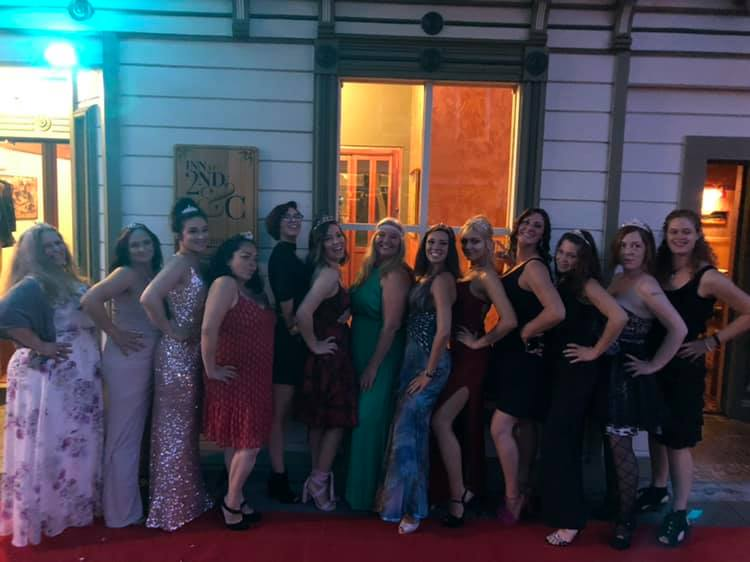 Best Of North Coast 2019 Party A-1 Cleaning Service Lady Pros Pose for  their picture on a red carpet. We took two categories this year. Best Carpet Cleaning & Best Cleaning Service.
