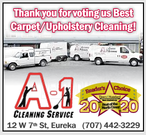 2020 Times Standard Readers Choice Award Best Carpet Cleaning