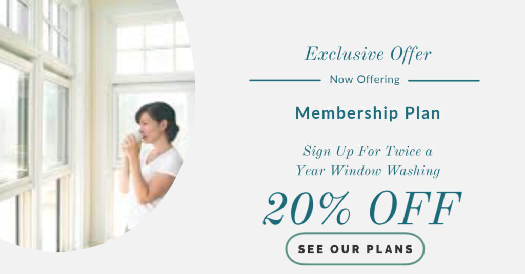 A-1 Cleaning Service Window Membership Plan